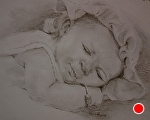 Kynleigh by Marie Merritt Pencil ~ 8 x 10