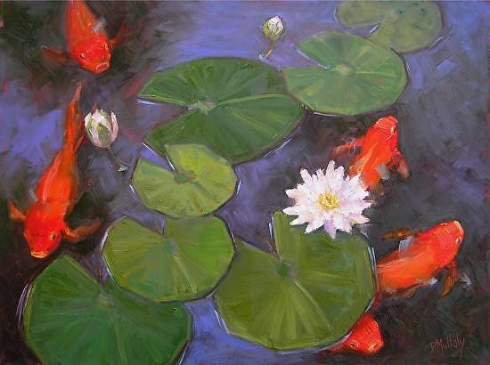 Zen Pond - Oil