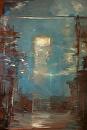 "Nocturne by Elizabeth Torak Oil ~ 72"" x 48"""