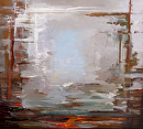 "Open Sea by Elizabeth Torak Oil ~ 36"" x 40"""