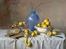 "Still Life with a Twist by Elizabeth Torak Unframed giclee print ~ 20"" x 24"""