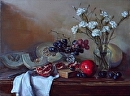 Persephone's gifts by Elizabeth Torak Oil ~ 24 x 32