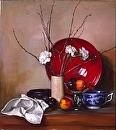 Rising Sun by Elizabeth Torak Oil ~ 36 x 34