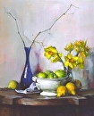 Winter/Spring by Elizabeth Torak Oil ~ 36 x 30