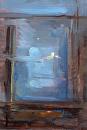 "Nocturne by Elizabeth Torak Oil ~ 12"" x 8"""