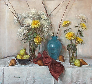 "Celebration by Elizabeth Torak Oil ~ 36"" x 40"""