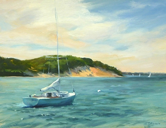 Northwest harbor - Oil