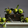 TIN WITH WILD APPLES