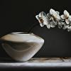 ORCHIDS/white vase