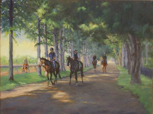 Oklahoma Horse Path - Oil