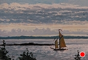 "Under Way by Brian Kliewer Oil ~ 4"" x 6"""