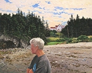 "Owls Head by Brian Kliewer Oil ~ 24"" x 30"""