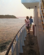 "Morning Ferry by Brian Kliewer Oil ~ 30"" x 24"""