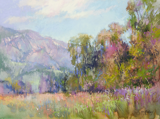 April Afternoon by Richard McKinley Pastel ~ 12 x 16