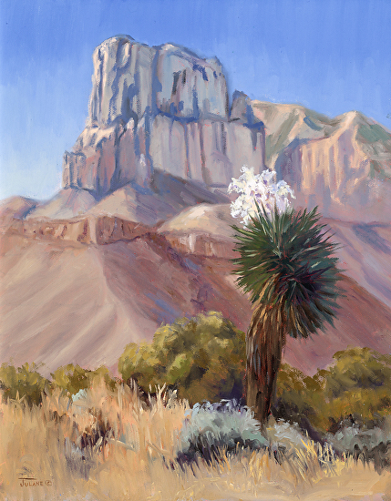 Guadalupe Peak - Oil