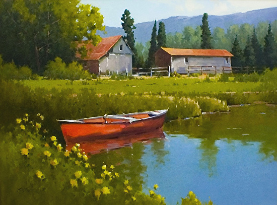 Tranquility - Oil