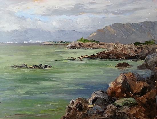 Crab Cove Sea Lettuce Effect (Ref. 969) - Oil