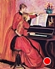 Tribute to Renoir's Young Girls At The Piano by Norma Wilson Pastel ~ 18 x 14