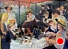 Renoir's Luncheon of The Boating Party by Norma Wilson Pastel ~ 24 x 18