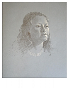 Psychology Student by Berry Fritz Pencil ~ 20 x 16