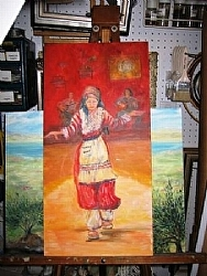 G.9.) The Dancer- by  Anthe Oil ~  x