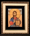 h.4)  Jesus the Teacher - SOLD by  Anthe Woodburning ~ 10 x 8