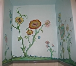 Bathroom Mural 6 by  Anthe Acrylic ~  x