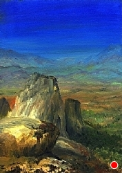 G.10. Beyond Boulders SOLD by  Anthe Oil ~ 7 x 5