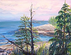 2. Maine View by  Anthe Acrylic ~ 11 x 14""