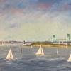 Sailing Newport Harbor