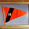 Harvard Yacht Club Burgee