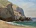 Coches Prietos Cove, Santa Cruz Island by Michael Enriquez