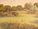 Putting Green, Shady Canyon by Val Carson Oil ~ 11 x 14