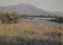 San Gabriel Valley Spring by Val Carson Oil ~ 12 x 16