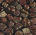 "Dark Chocolates II by Ernie Marjoram Oil ~ 12"" x 12"""