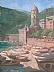 "Cinque Terre by Ernie Marjoram Oil ~ 24"" x 18"""