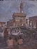 "Palazzo Vecchio by Ernie Marjoram Oil ~ 16"" x 12"""