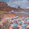 "Sperlonga by Ernie Marjoram Oil ~ 24"" x 18"""