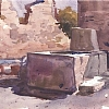 "Pompeii by Ernie Marjoram Watercolor ~ 10"" x 8"""