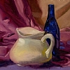 Pitcher by Ernie Marjoram Oil ~ 12 x 16
