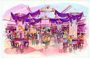 The Disney Store - New york by Ernie Marjoram Marker ~ 11 x 17