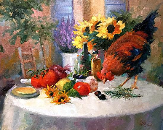 Chicken Provencal - Oil