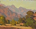 Foothill Evening by Glenn Dean Oil ~ 8 x 10