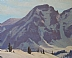 Rugged Peak by Glenn Dean Oil ~ 24 x 30