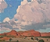 Clouds Over the Red Mesa by Glenn Dean  ~ 10 x 12