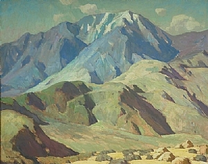 Foothill and Summit by Glenn Dean Oil ~ 48 x 60