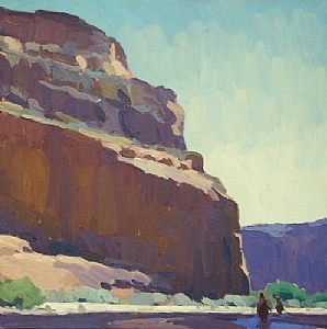 Sunlight and Shadow by Glenn Dean Oil ~ 16 x 16