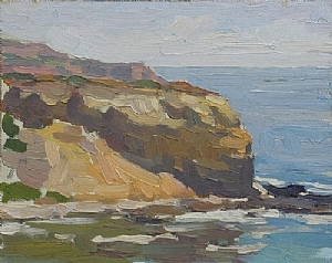 Coastal View by Glenn Dean Oil ~ 8 x 10