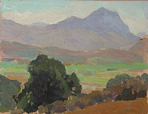 Valley View by Glenn Dean Oil ~ 6 x 8