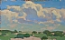 Summer Skies by Glenn Dean Oil ~ 5 x 8